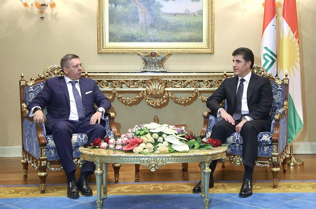 Prime Minister Barzani meets Italian Ambassador to Iraq