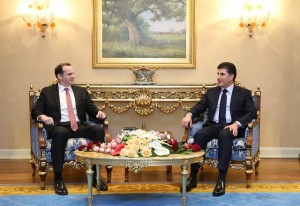Prime Minister Barzani meets US Special Presidential Envoy for the Global Coalition