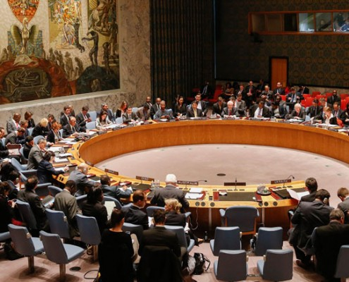 The United Nations Security Council meeting in New York. (Photo: Shannon Stapleto/Reuters)