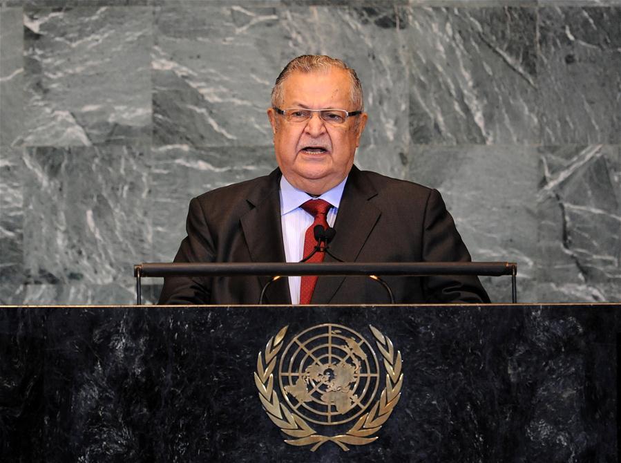 Former iraqi president Jalal Talabani dies