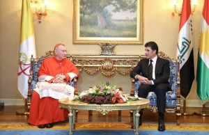 Prime Minister Barzani meets Vatican Secretary of State