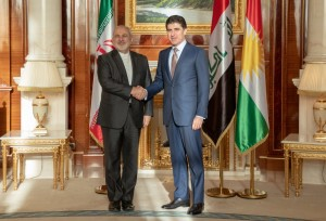 Prime Minister Barzani meets visiting Iranian Minister of Foreign Affairs