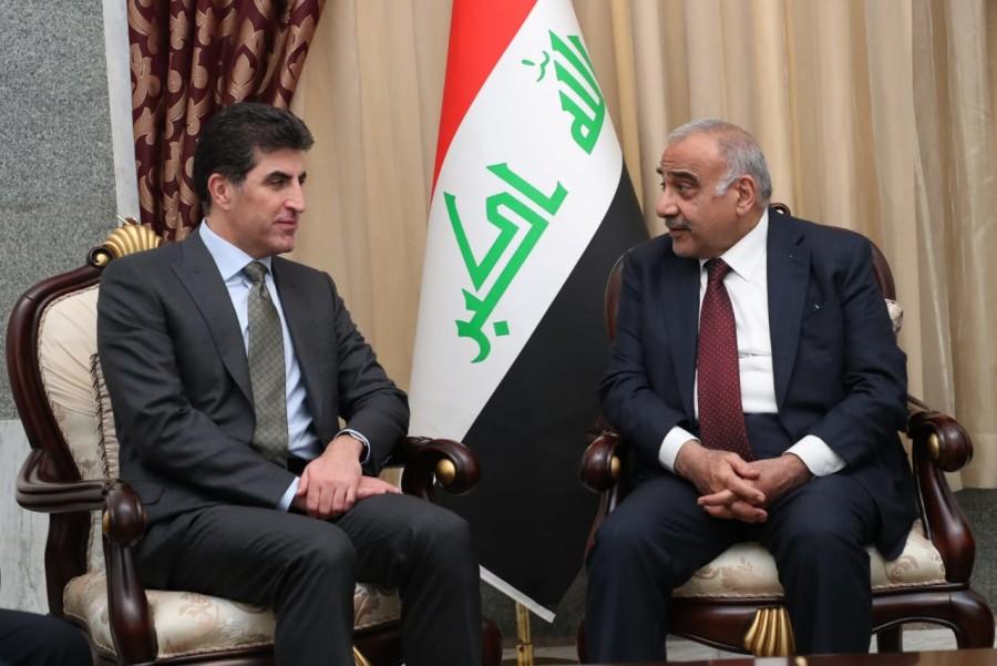 (English) Prime Minister Barzani meets Iraqi Prime Minister