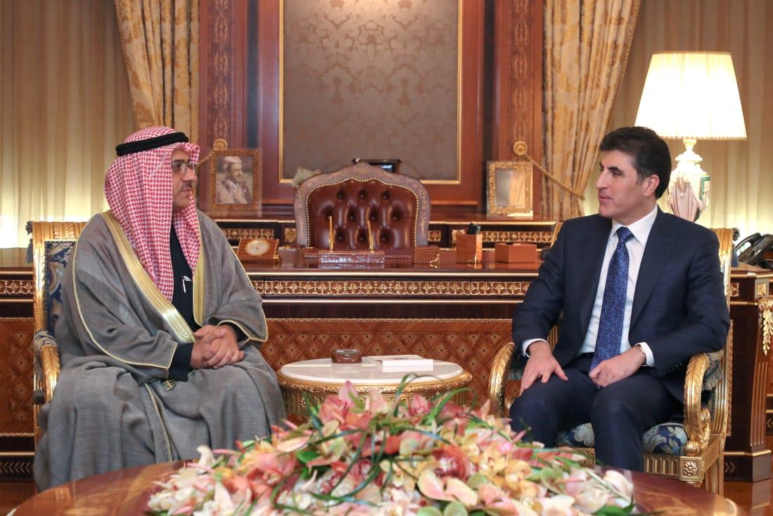 (English) Prime Minister Barzani receives Kuwaiti Consul General