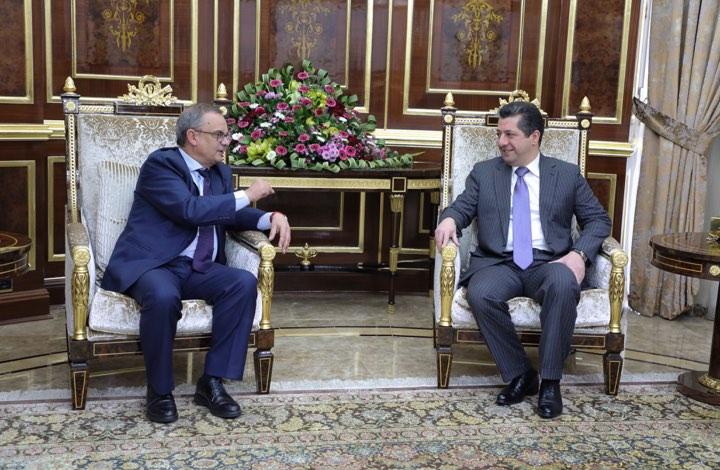 (English) Spanish Ambassador to Iraq, Juan José Escobar Stemmann, visited Kurdistan region