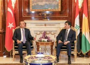 (English) Prime Minister Barzani meets Turkish Minister of Foreign Affairs