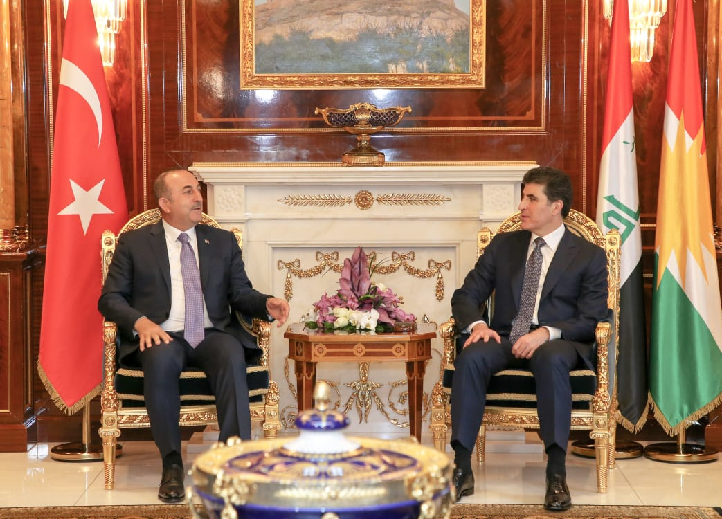 Prime Minister Barzani meets Turkish Minister of Foreign Affairs