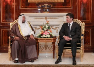 El primer ministro Barzani recibe a la delegación de IICO