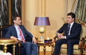 Prime Minister Barzani receives U.S. delegation
