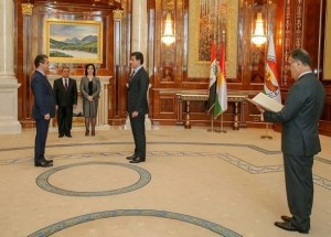 (English) President of the Kurdistan Region tasks Masrour Barzani to form the new KRG cabinet