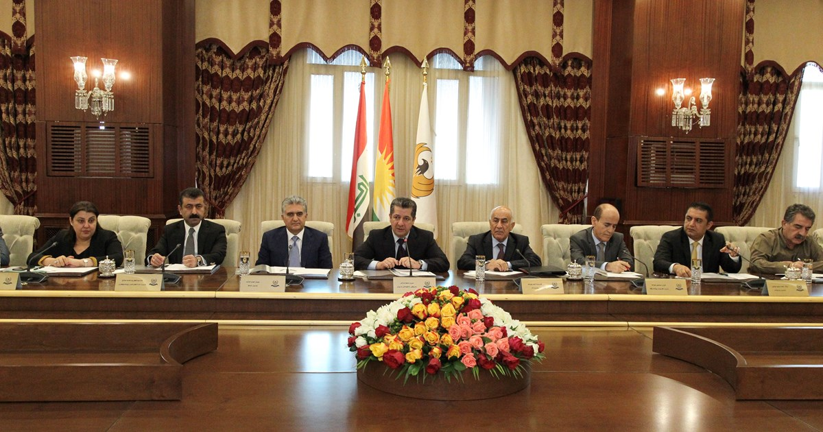 Prime Minister Barzani chairs meeting to discuss government priorities