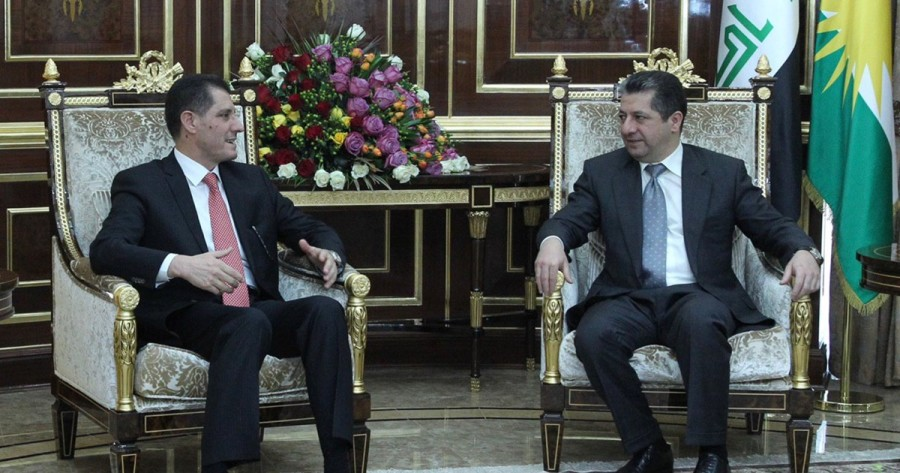 Prime Minister Masrour Barzani receives Iraq's Minister of Planning
