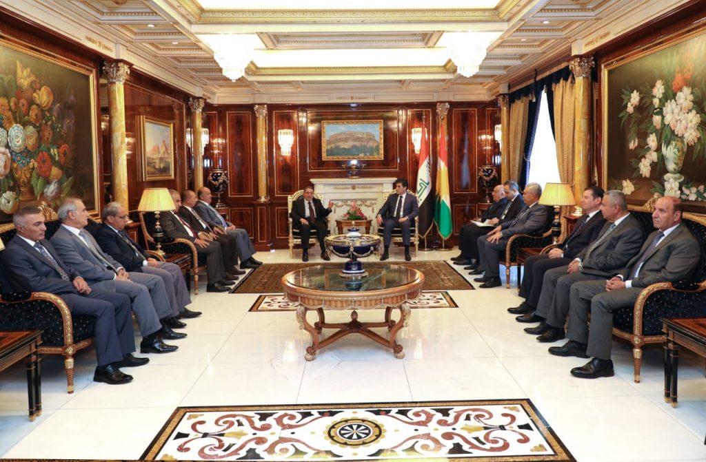 (English) Kurdistan Region President Meets with the Judiciary Council