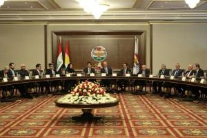 Declaración de la reunión de líderes de la región del Kurdistán