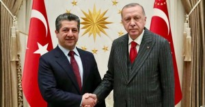 (English) Prime Minister Masrour Barzani meets with President of Turkey Recep Tayyip Erdogan