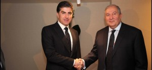 (English) President Nechirvan Barzani meets with Armenia's President Sarkissian