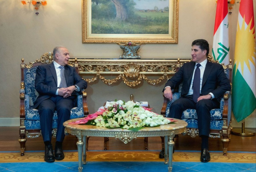 Kurdistan Region President meets with Iraq's Foreign Minister