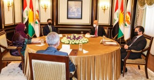 Meeting of Kurdistan Region Presidencies and Iraq's President
