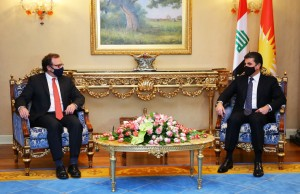 President Nechirvan Barzani receives U.S. delegation