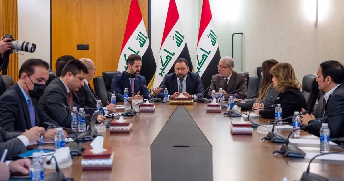 Deputy Prime Minister meets with Iraqi Parliament Deputy Speakers
