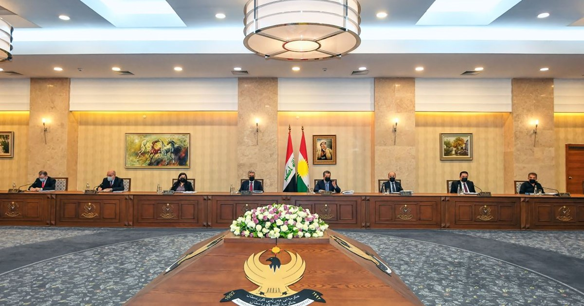 Council of Ministers convenes on 2021 Kurdistan Region budget bill