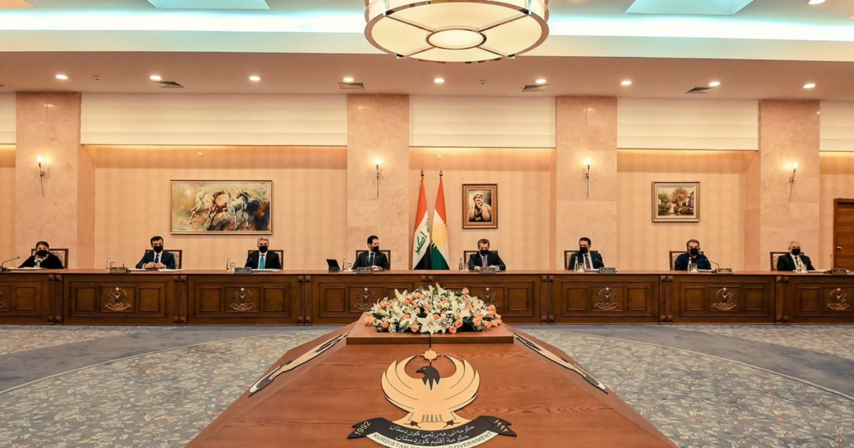 (English) Prime Minister Masrour Barzani convenes Council of Ministers