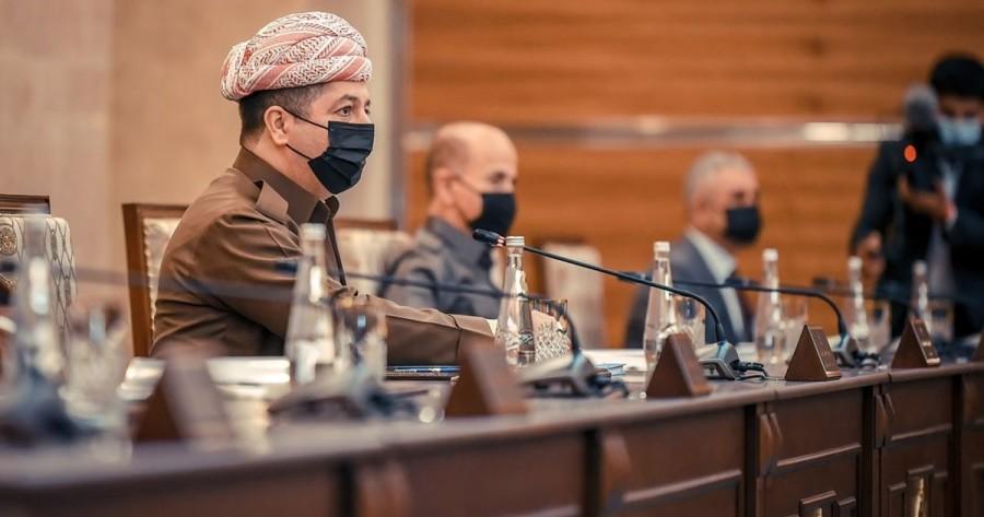 Prime Minister Barzani convenes Council of Ministers