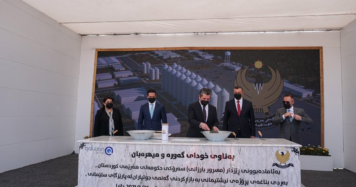 Prime Minister Masrour Barzani launches Wheat Marketing Project in Slemani