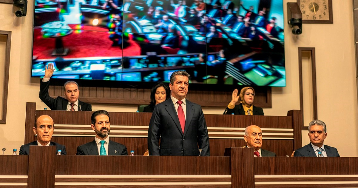 KRG's Ninth cabinet marks 2nd anniversary with 27 projects started over past year
